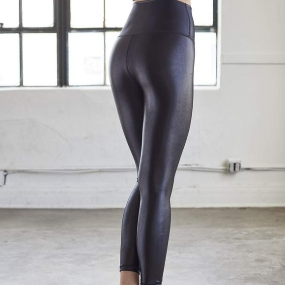 02c5feab2b DYI High Shine Leggings in Black